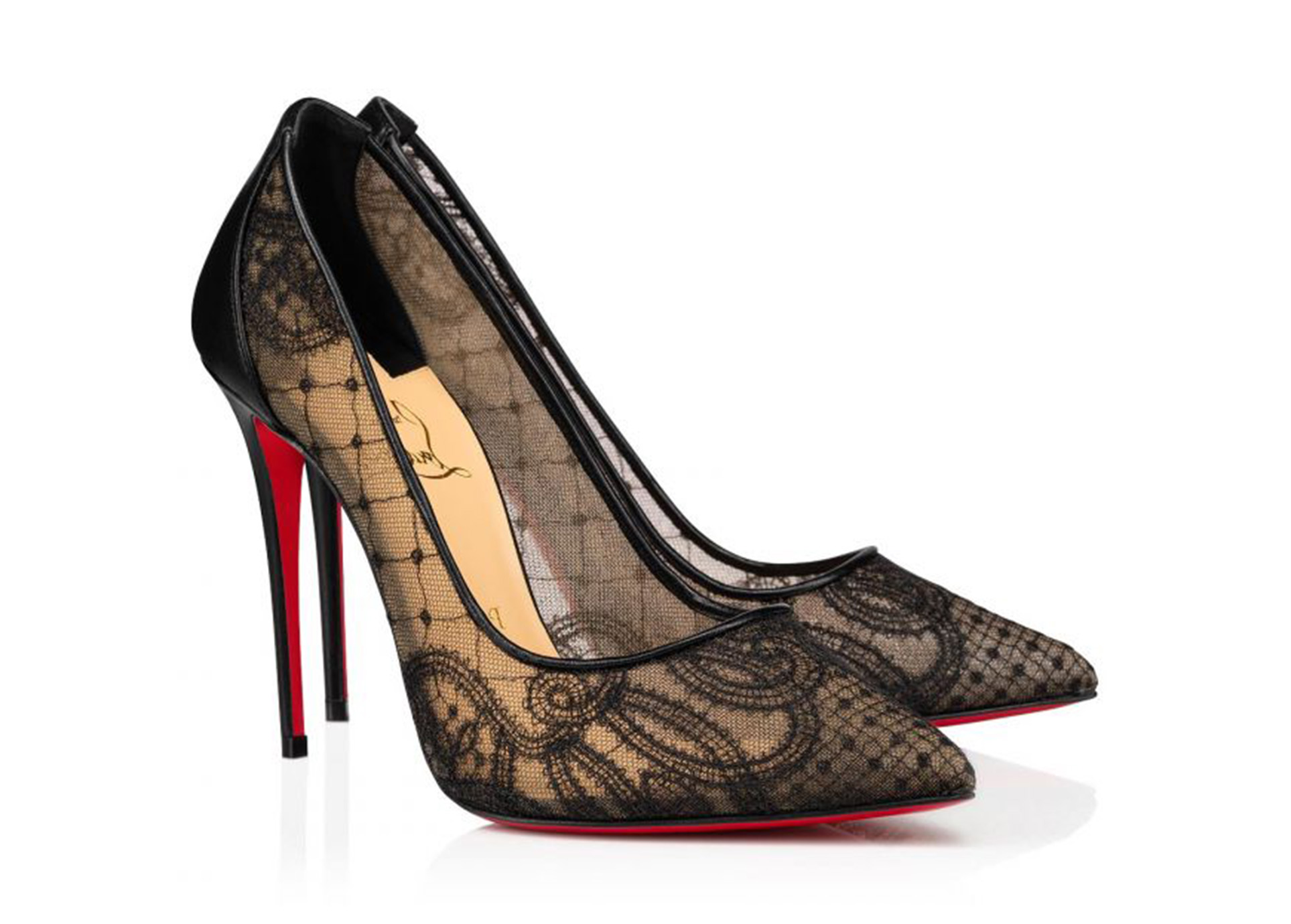 Zapatos Follies Lace de Christian Louboutin