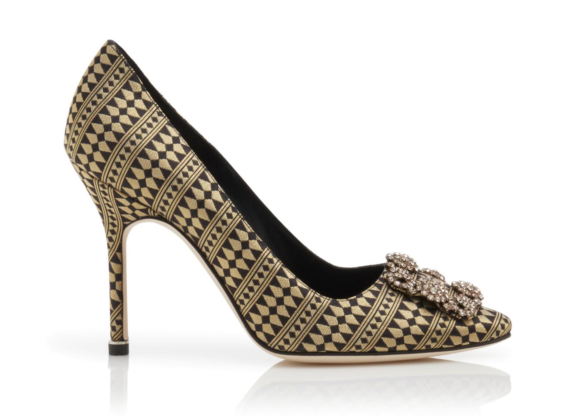 Zapatos Hangisi Jacquar de Manolo Blahnik