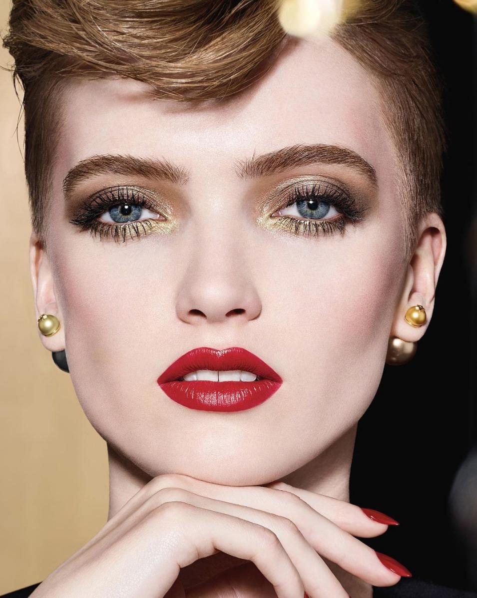 Maquillaje de Dior para Navidad.