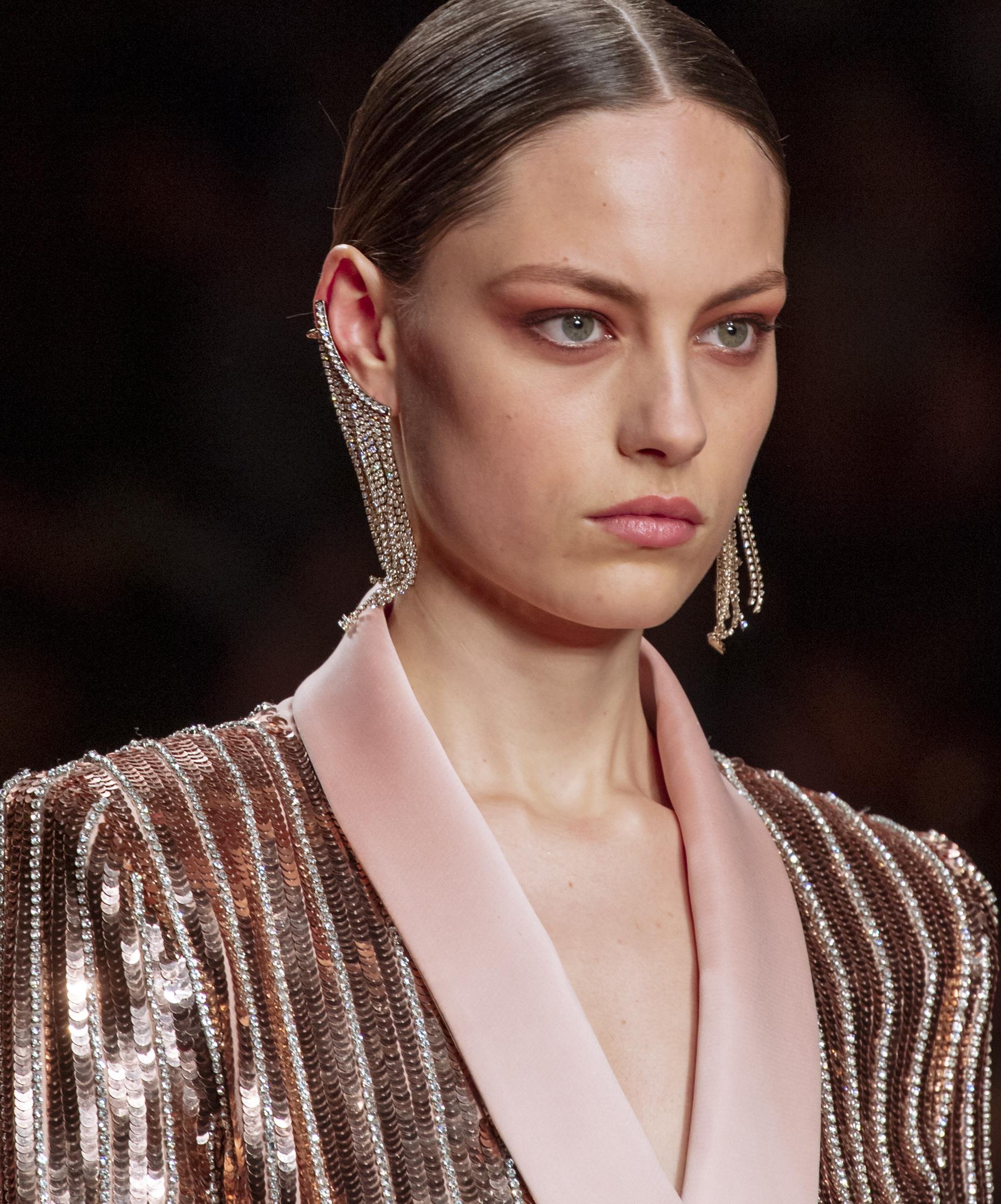 Look de belleza de Elisabetta Franchi
