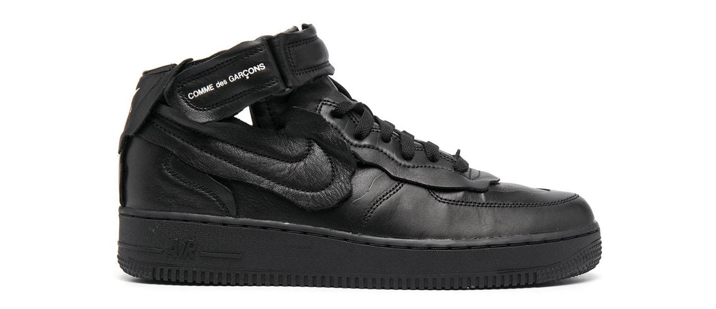 Regalos para hombre: Zapatillas de Nike y Comme des Garçons.