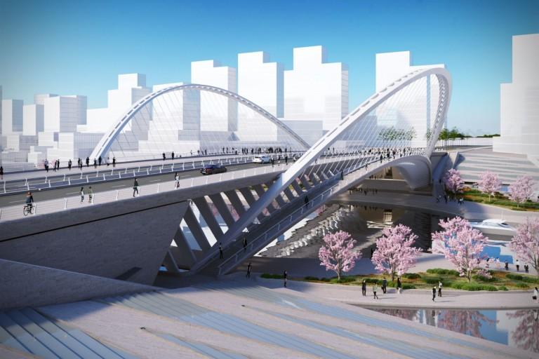 Huashan Canal Bridge / Foto: Santiago Calatrava