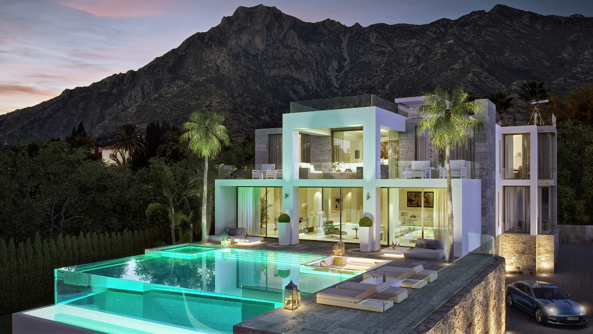 Villa Mozart Sierra Blanca Marbella_Foto: Archidom Studio