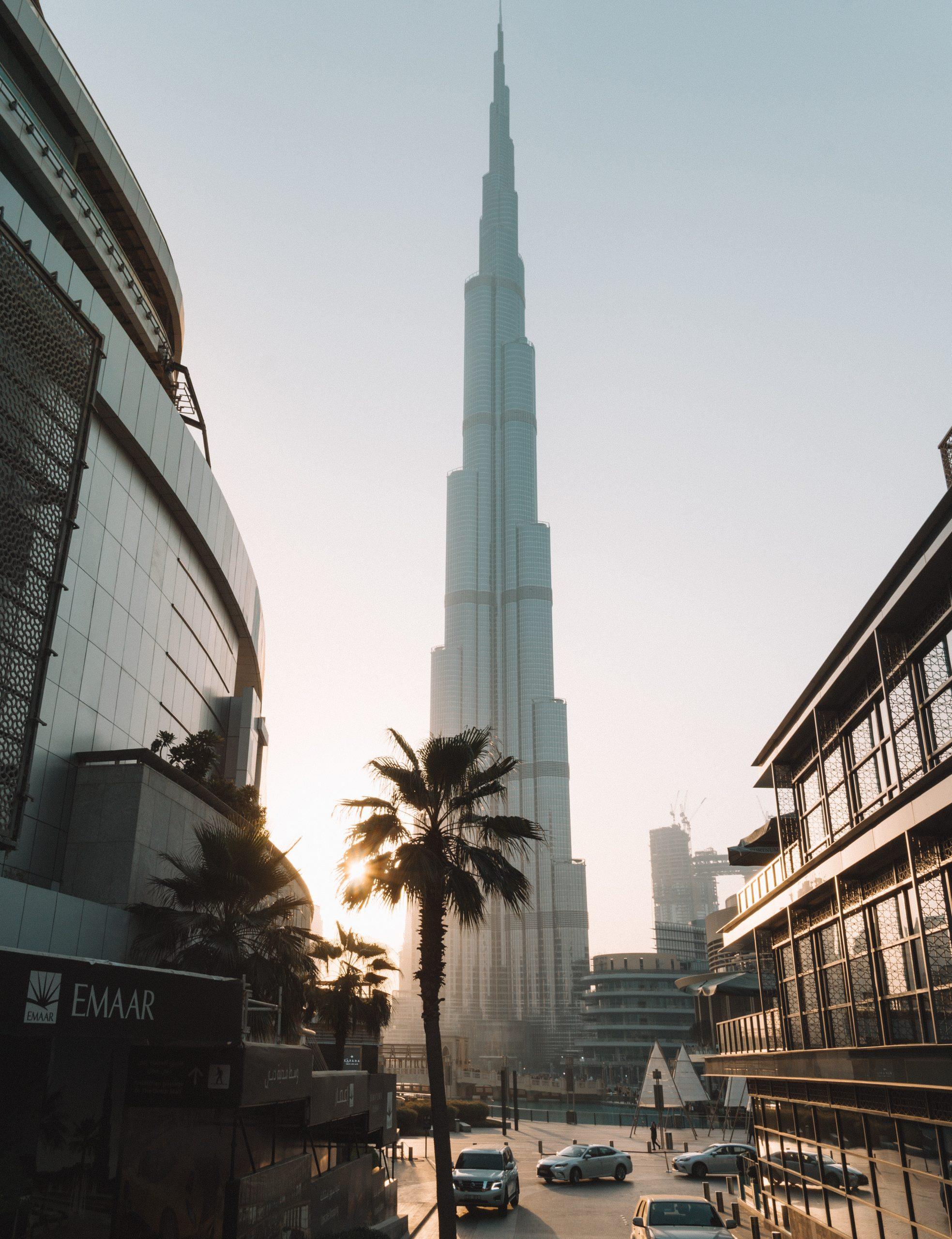 Burj Khalifa Lake de Dubái/ Foto: UNSPLASH