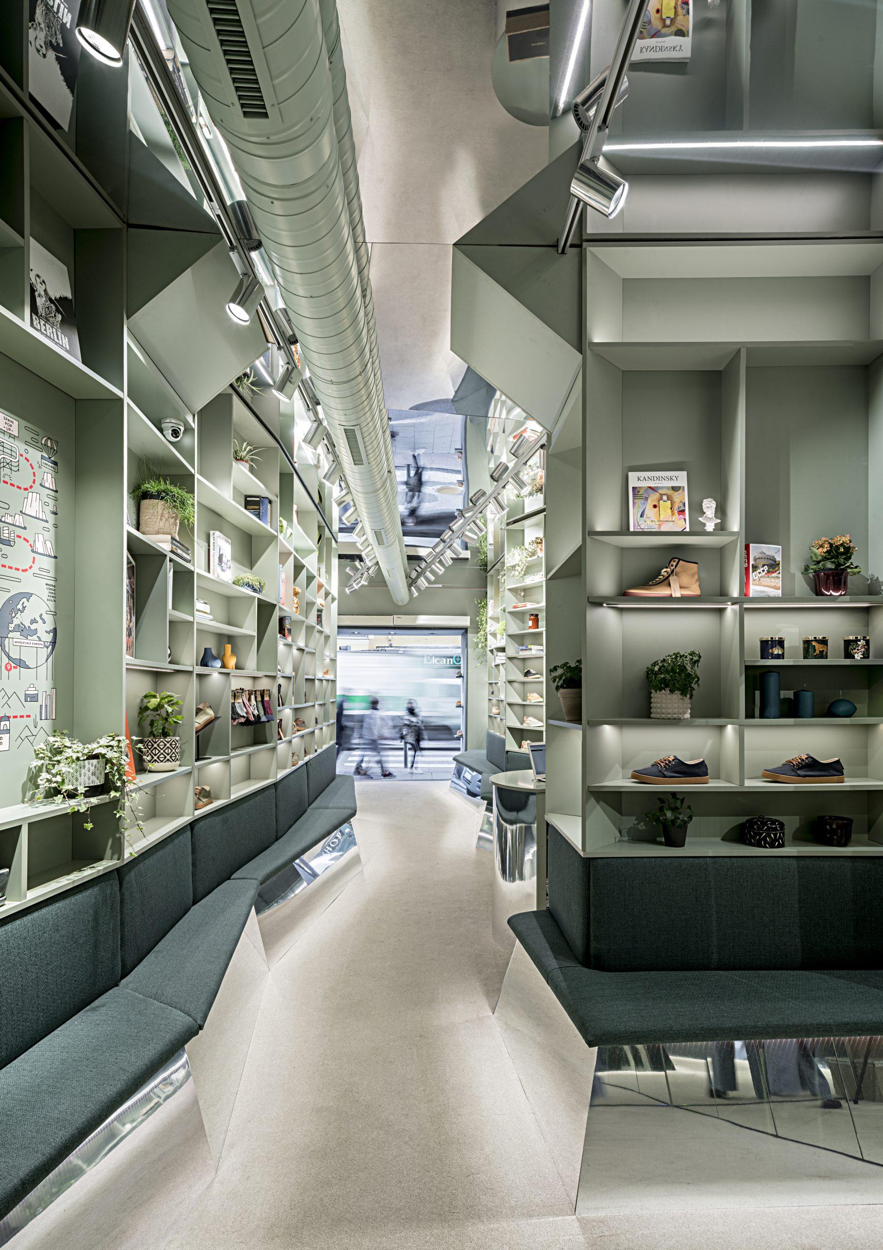 Tienda de Pompeii Madrid diseñada por 'El Departamento'/Foto: 'El Departamento'