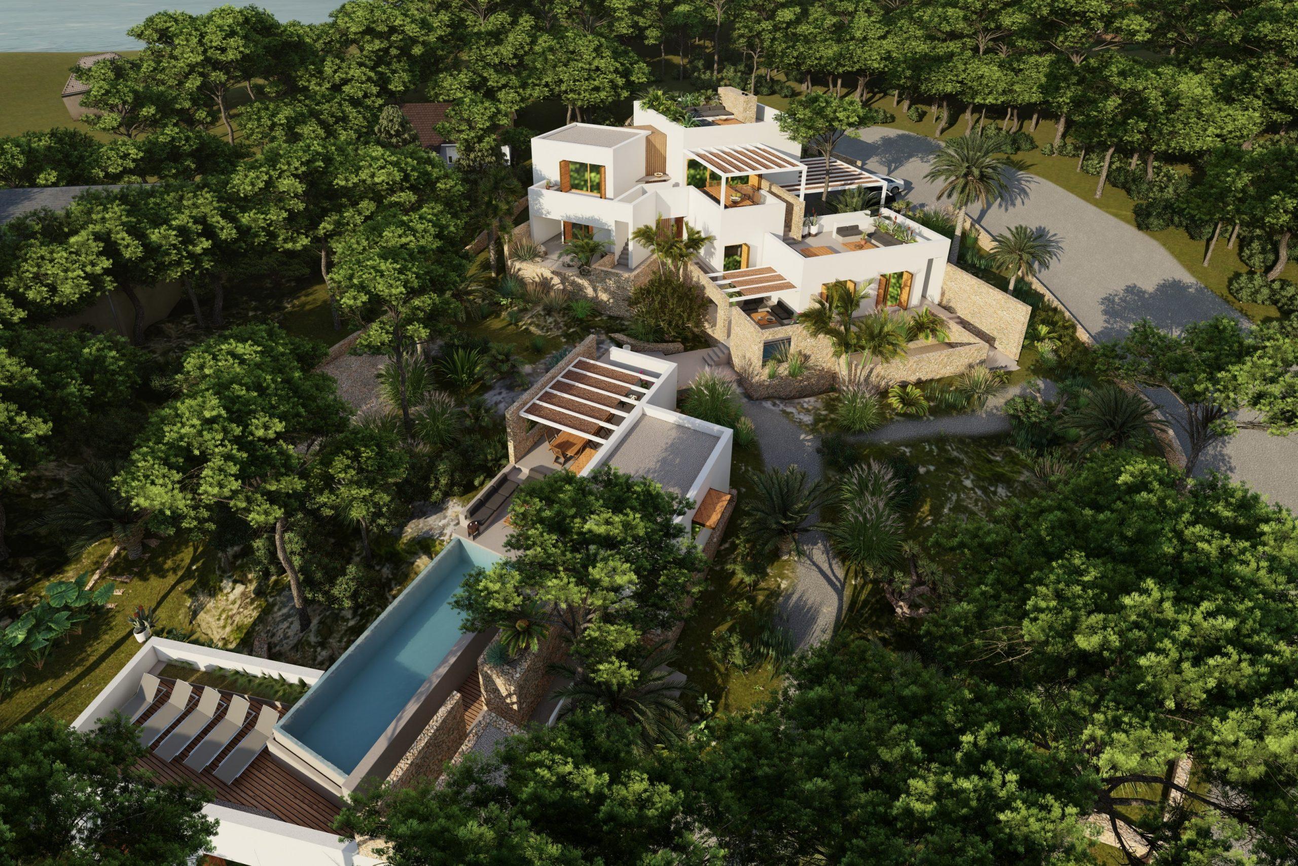 Vivienda en Menorca, diseñada por 'Flaire Studio'