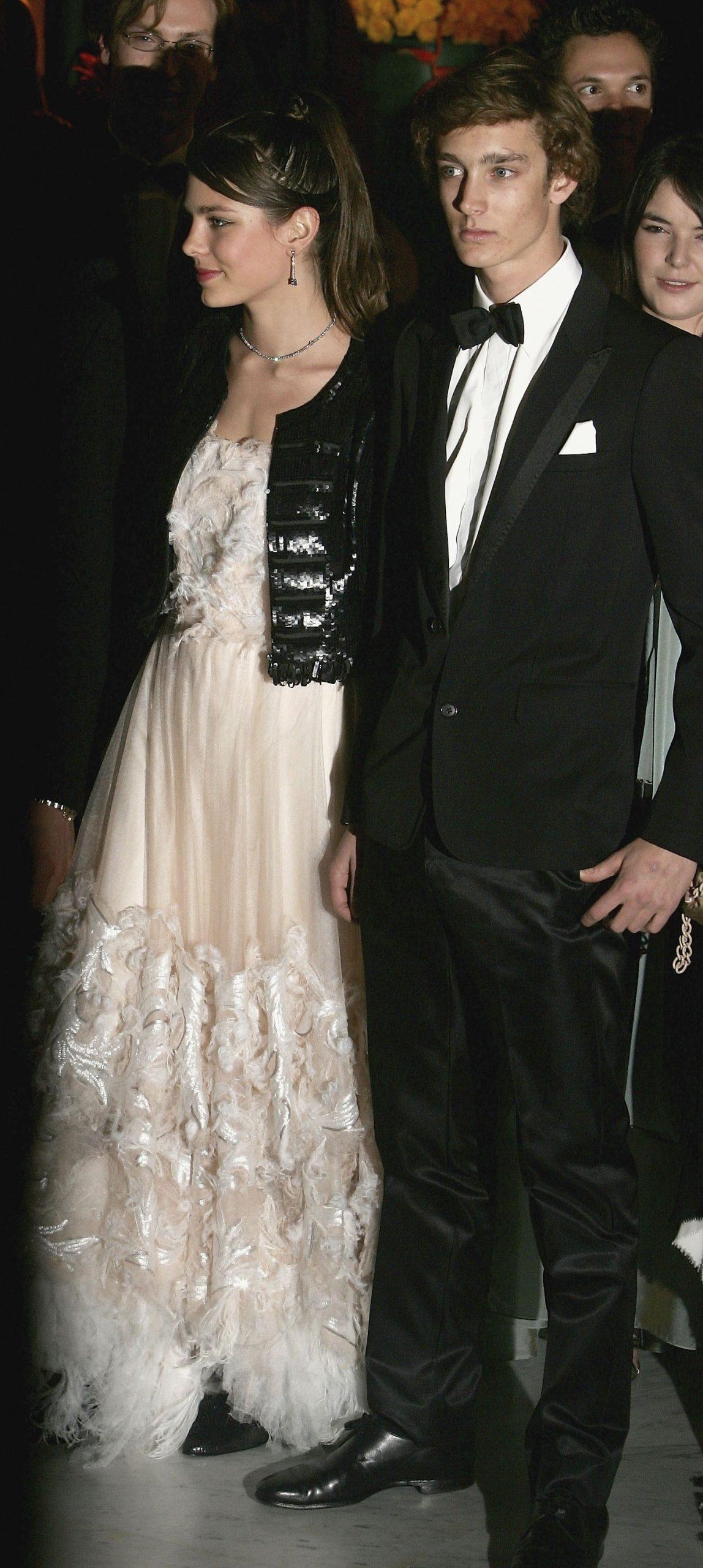 Carlota y Pierre Casiraghi en el 'Baile de la Rosa' de 2006/ Foto: GETTY