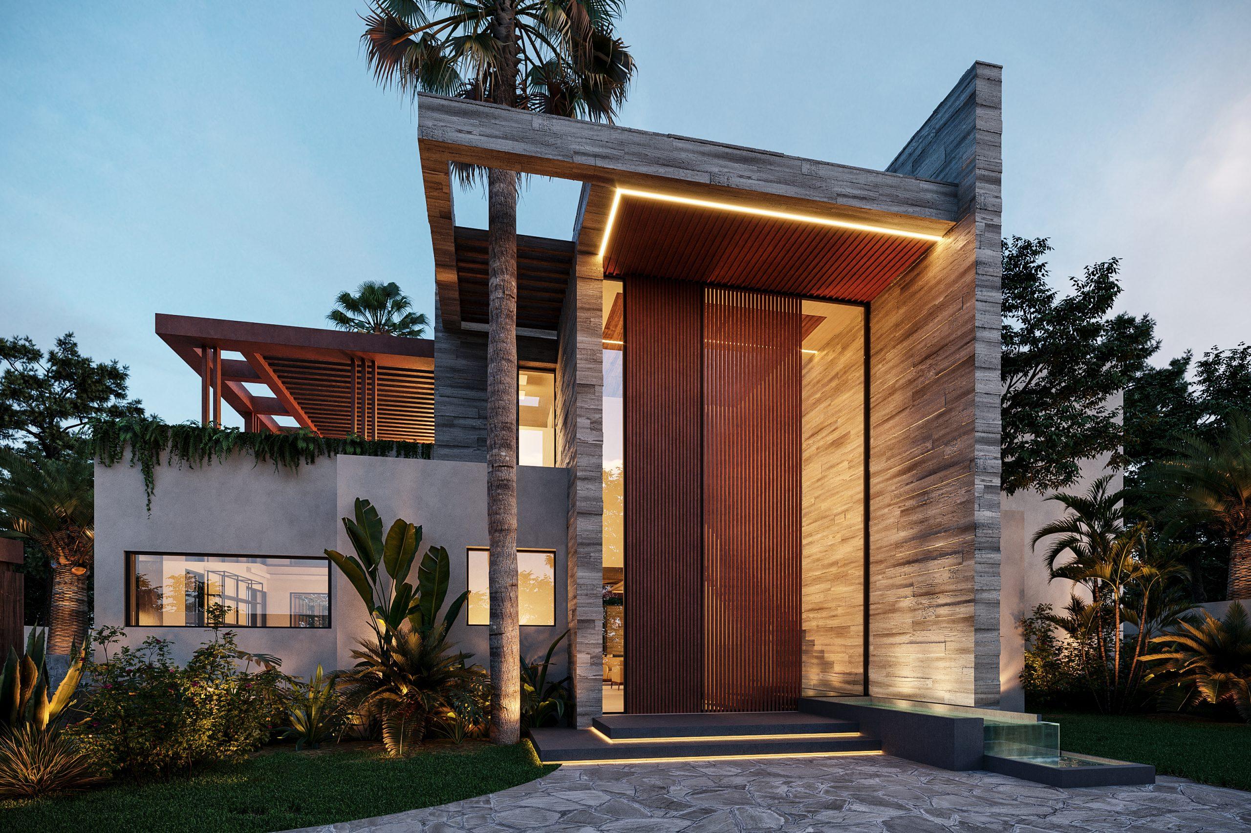 Vivienda diseñada por Archidom Studio en Marbella/Foto: Archidom Studio