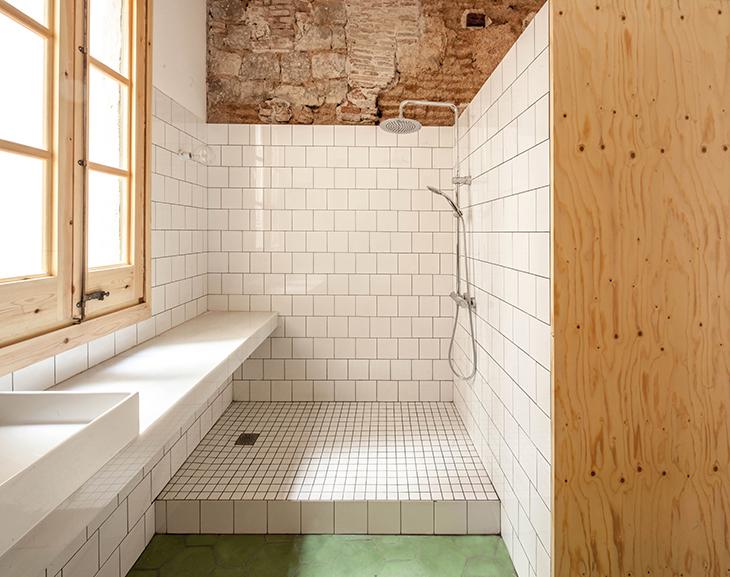 Baño restaurado