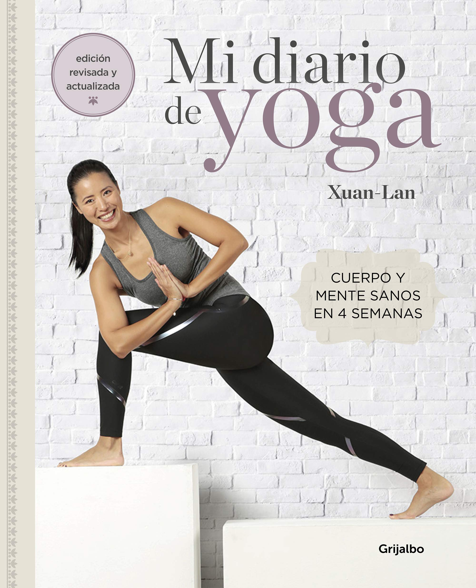 Portada del libro 'Mi diario de yoga'