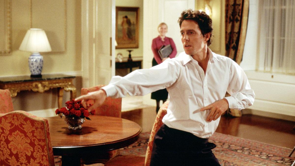 Hugh Grant en 'Love Actually'/Foto: Universal Pictures