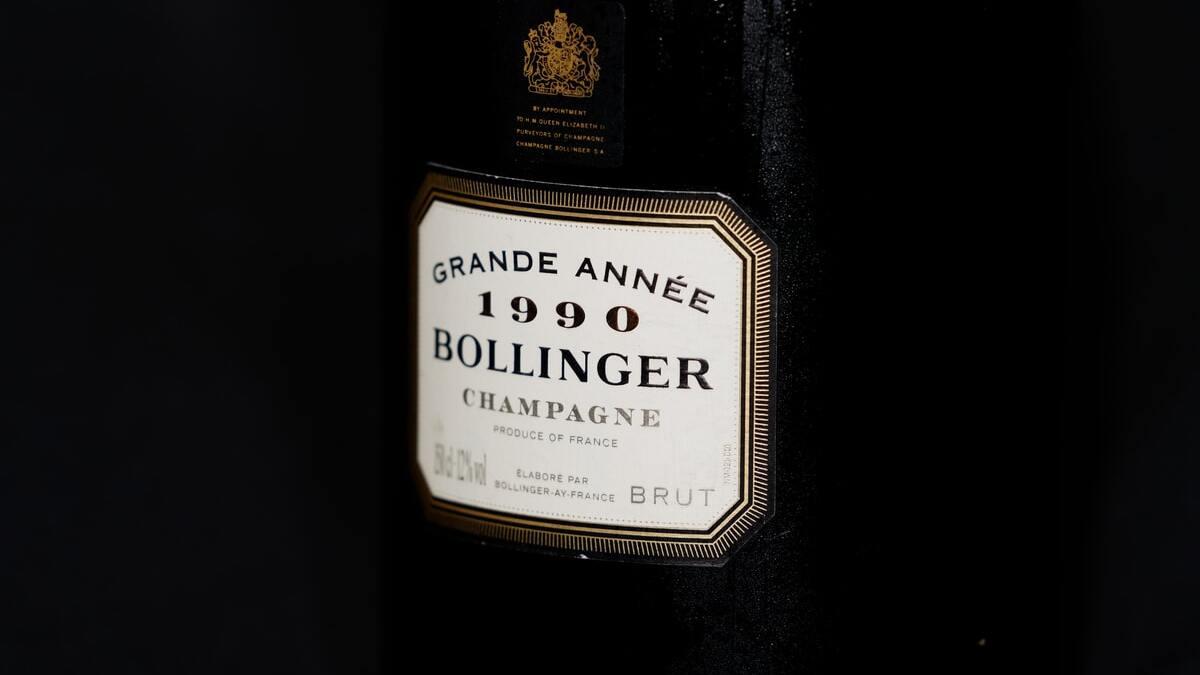 Botella de Bollinger