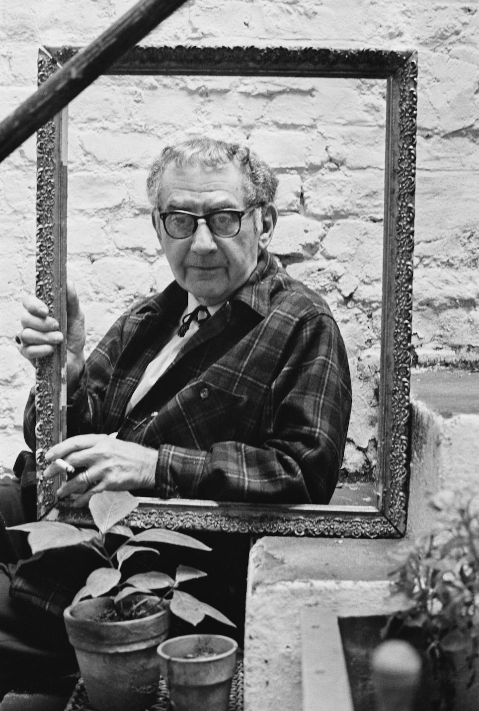 El artista Man Ray