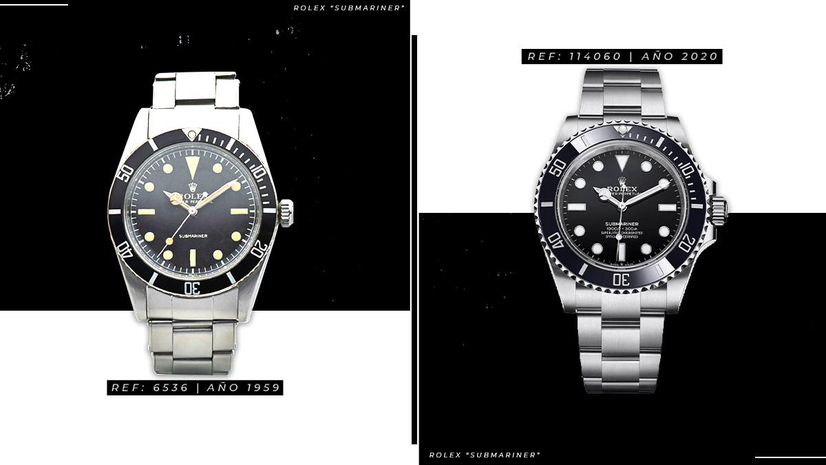 El Rolex Submariner a través del tiempo