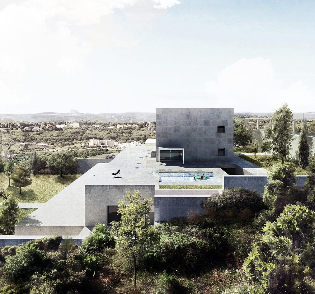 Vivienda en Sotogrande diseñada por Alberto Campo Baeza