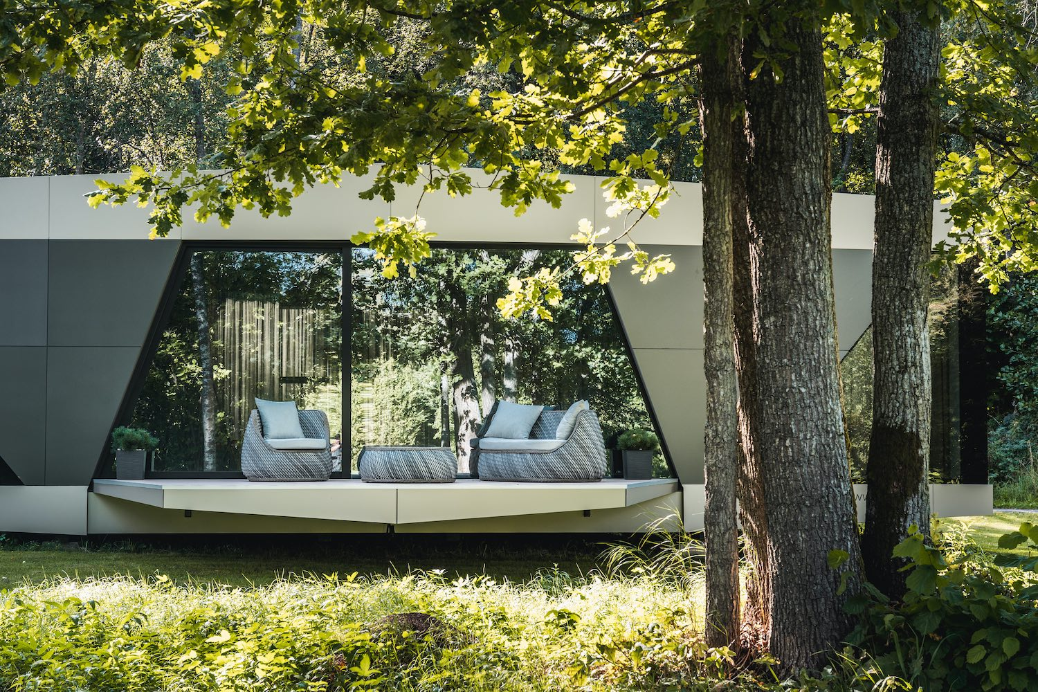 'The Space Ohouse', casa eco en Suecia/ Foto: Jaan Tiidemann