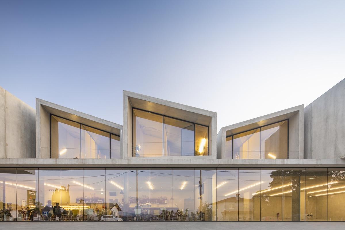 Vivienda prefabricada en Portugal/Foto:Fernando Guerra