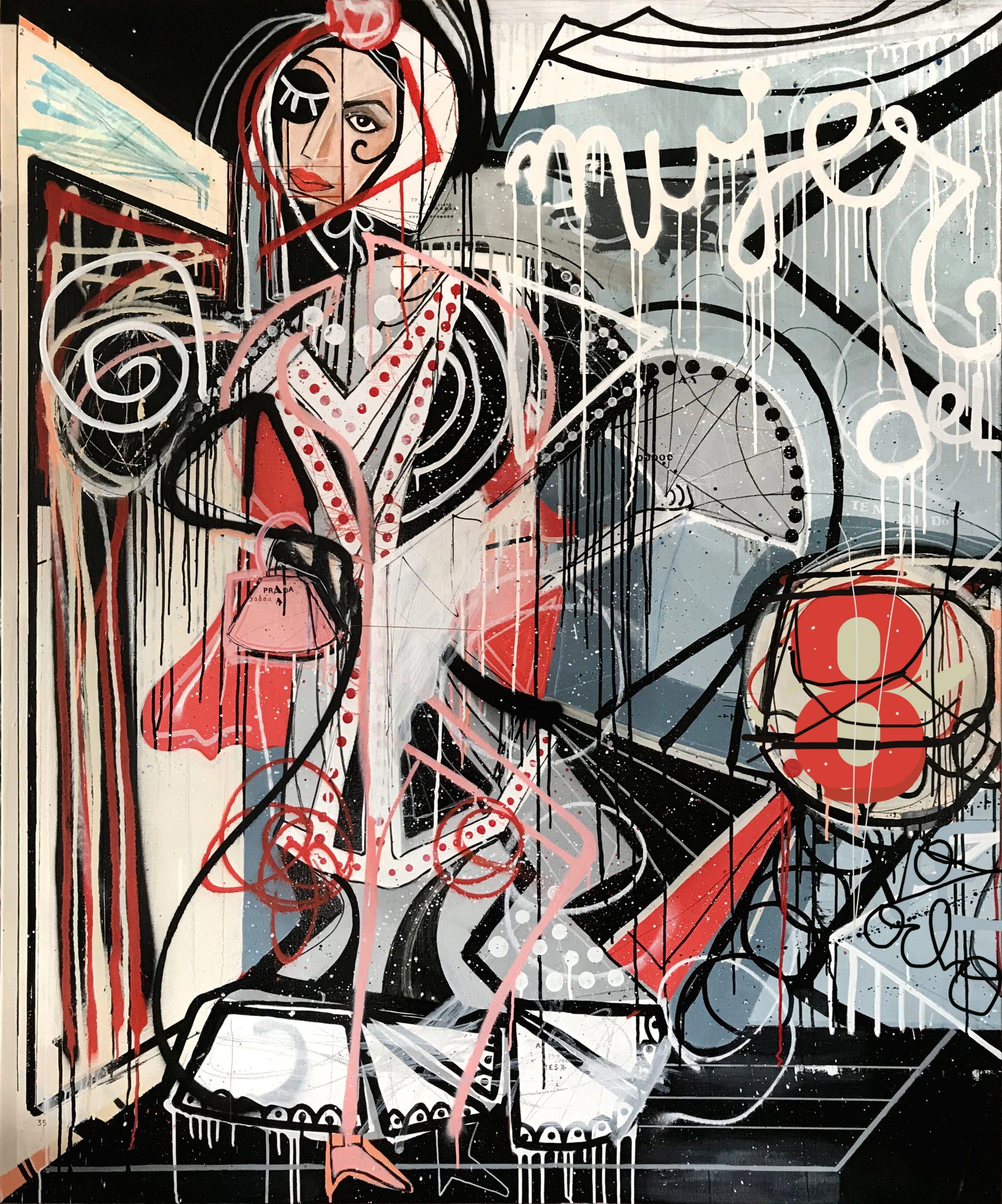 'Mujer del 8'/Miguel Caravaca