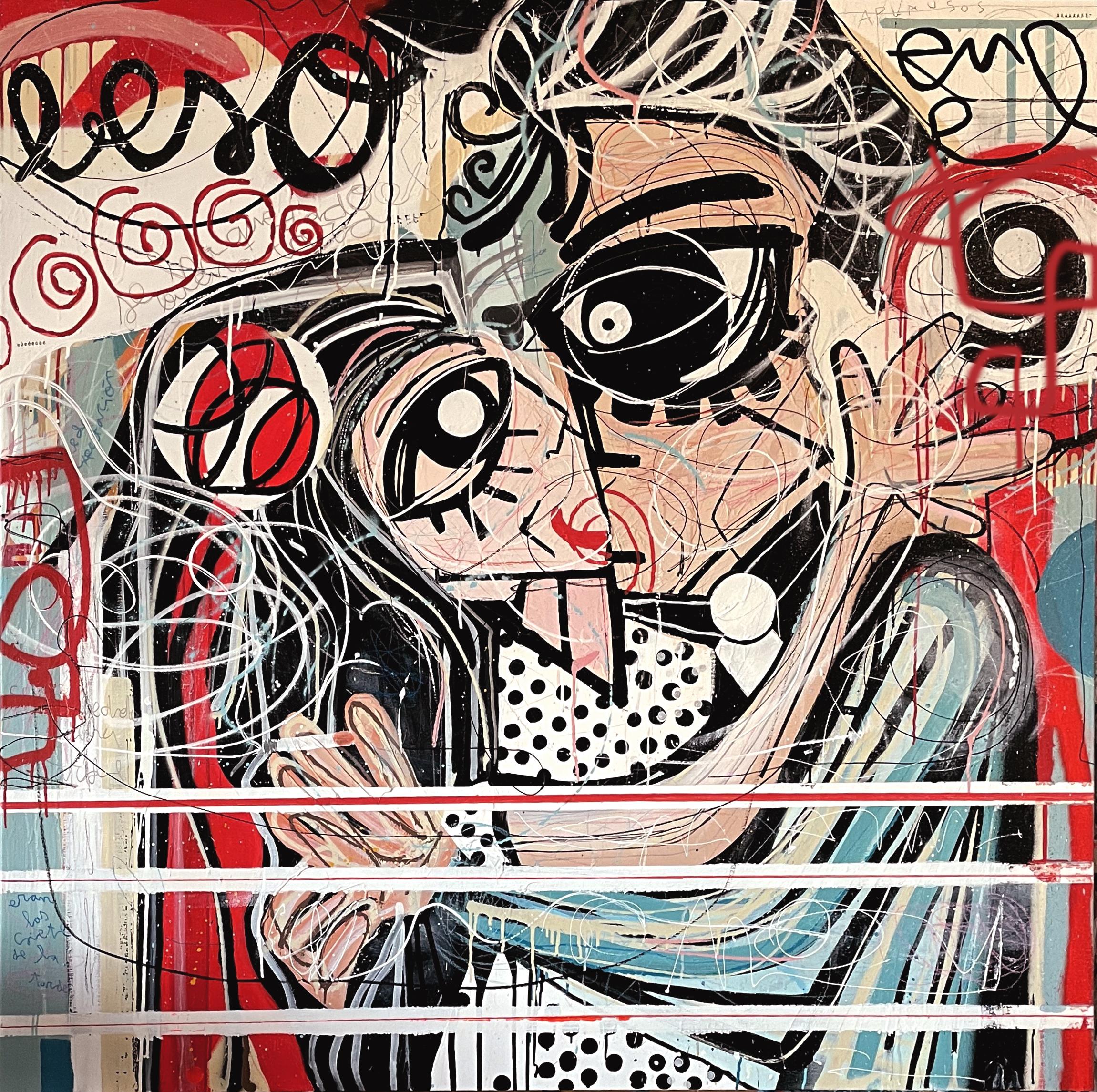 'Beso en ek 9'/Foto: Miguel Caravaca