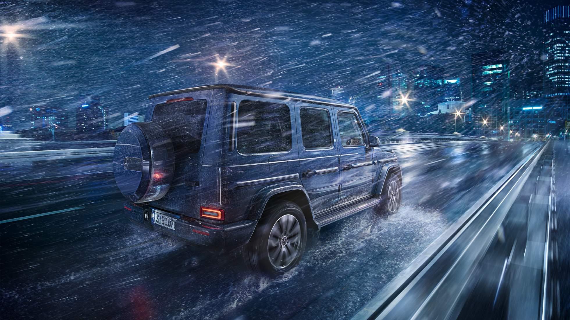 Clase G todoterreno/ Foto: Mercedes Benz