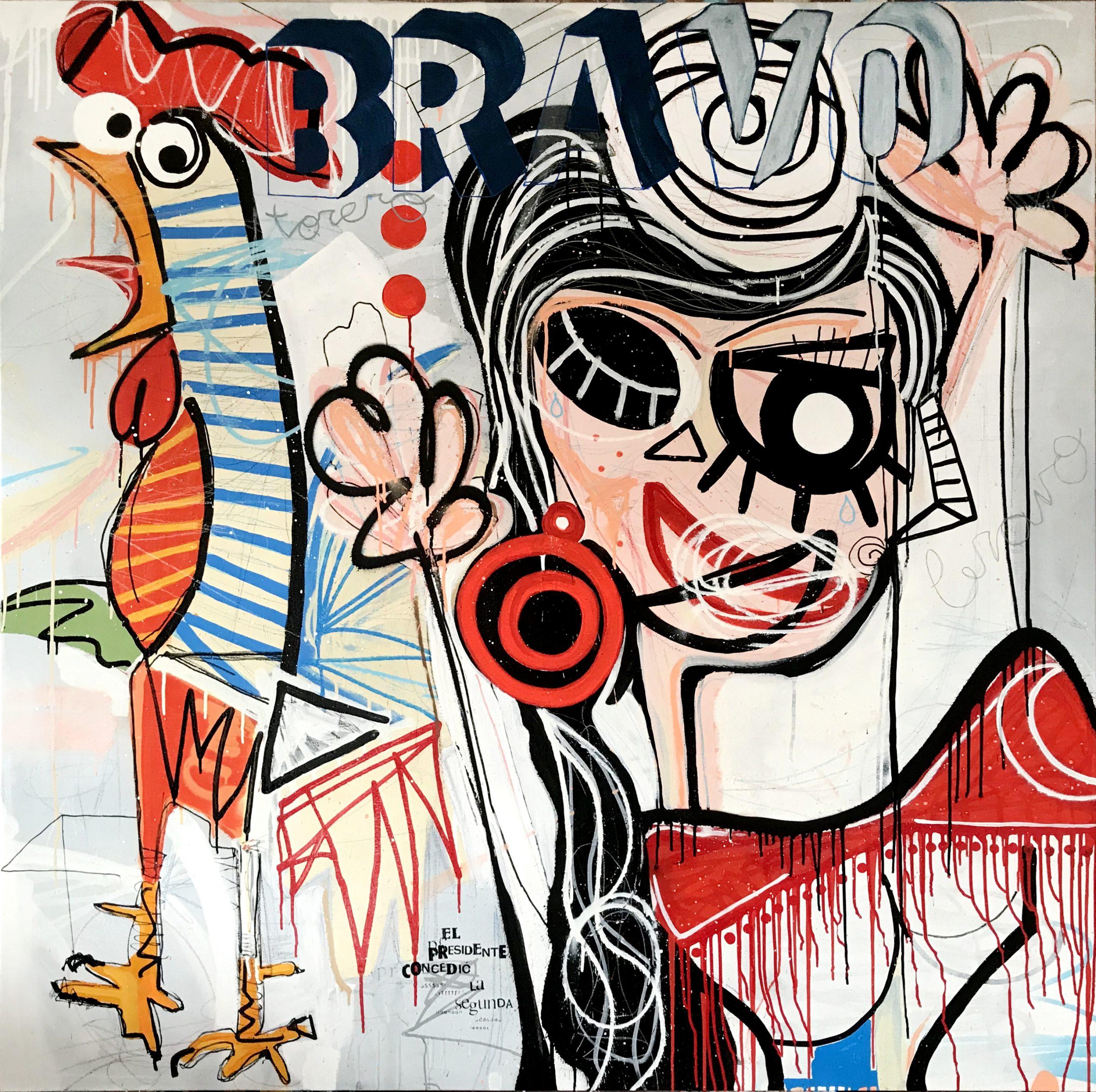 Miguel Caravaca: «Hay cosas que solo puedo decir pintando»