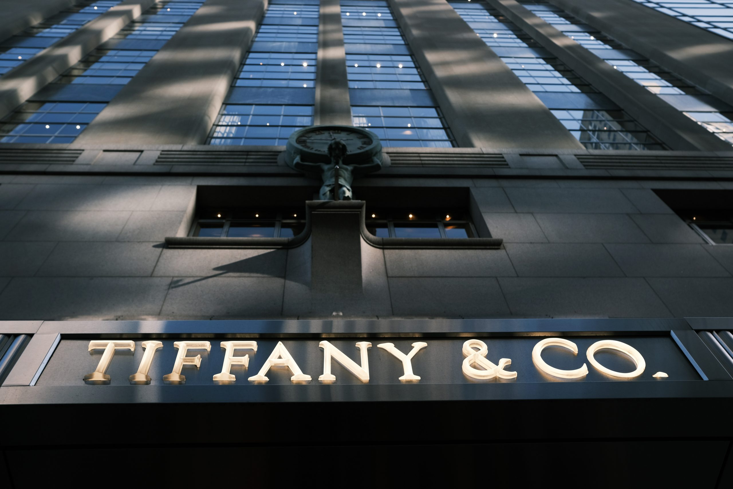 Fachada de Tiffany en Nueva York/Getty Images
