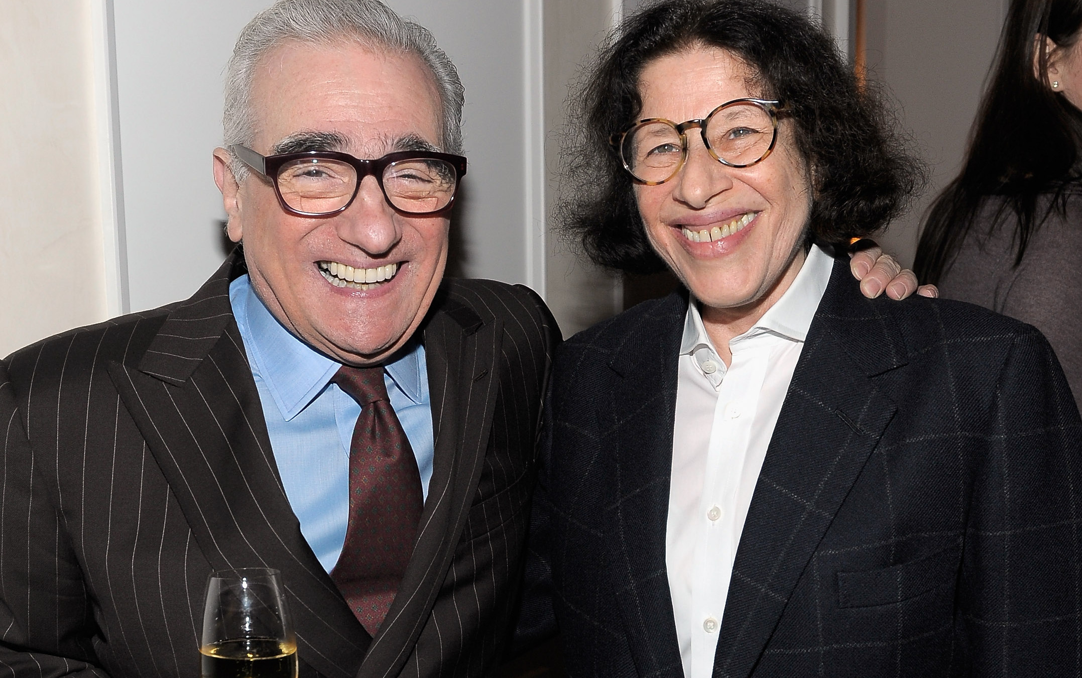 Martin Scorsese y Fran Lebowitz