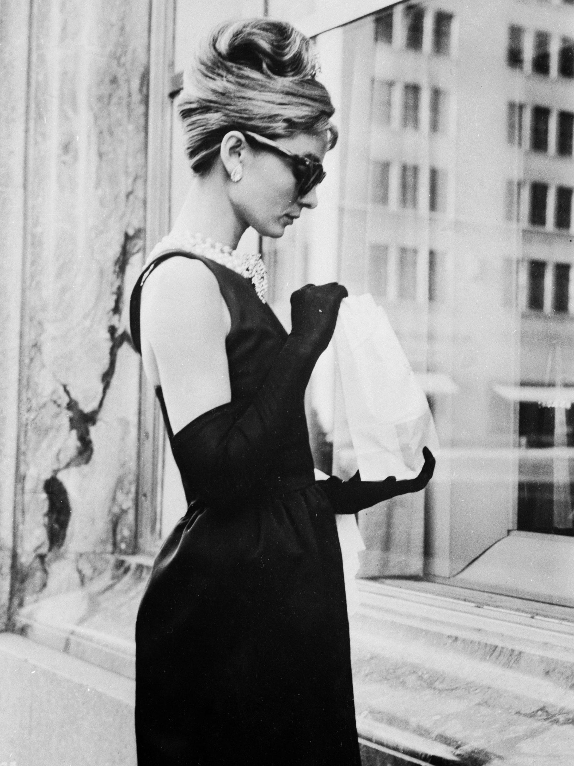 Audrey Hepburn en 'Desayuno con Diamantes'/Foto: Getty Images