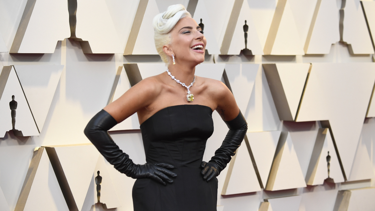 Lady Gaga en los Oscar de 2019/Foto: Getty Images