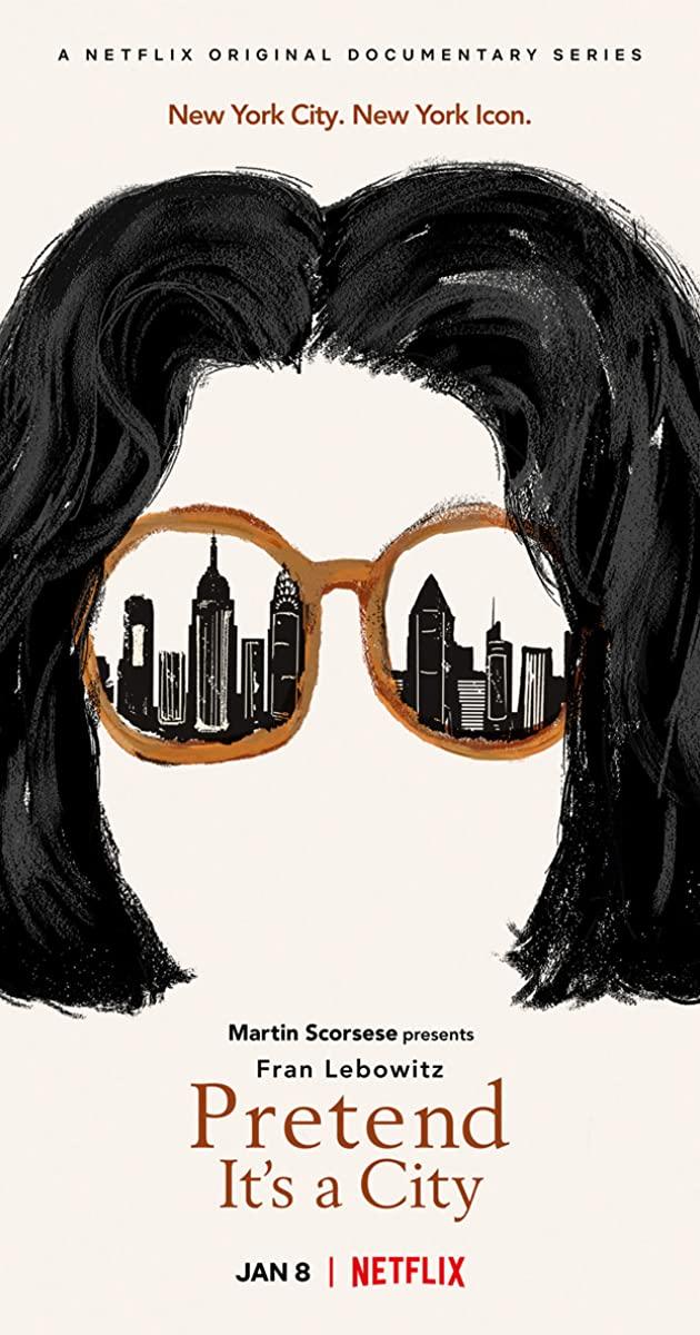 Cartel del documental 'Pretend it's a City'
