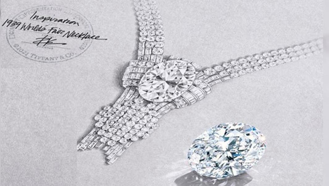 Voceto del collar reeditado/Foto: Tiffany&Co