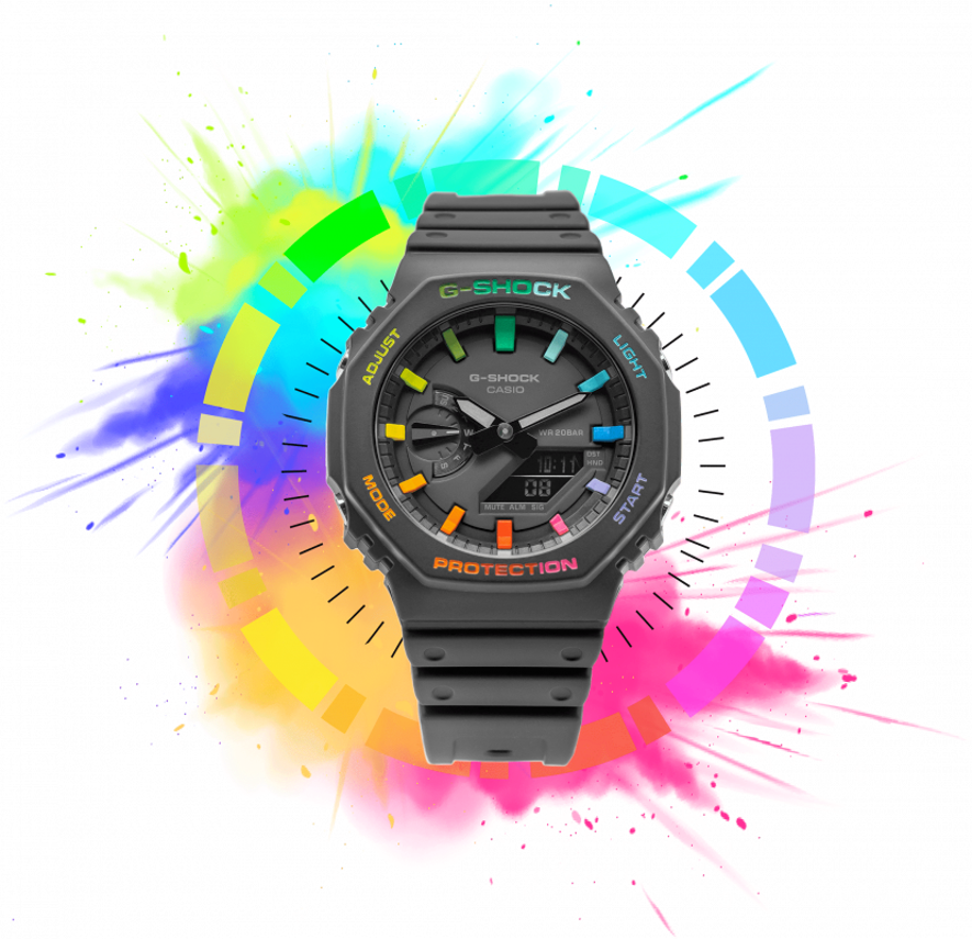 Casio 'CasiOak' IFLW Rainbow Limited Edition