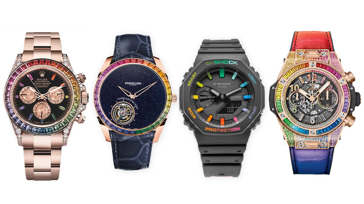 El 'Daytona Rainbow' y otros relojes inspirados en este modelo de Rolex