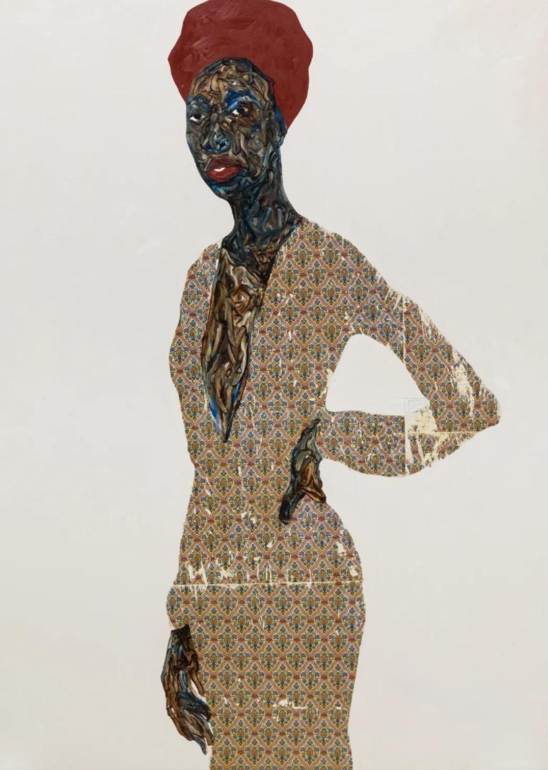 Pintura de Amoako Bofao / Foto: Mariane Ibrahim