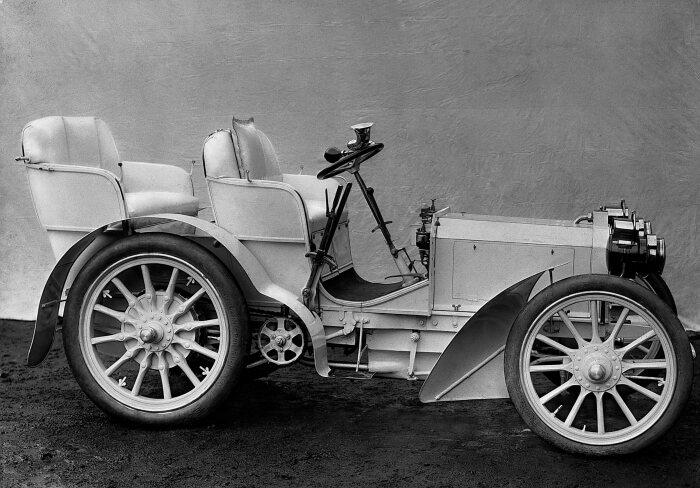El modelo Mercedes 35 de 1901/Foto: Daimler