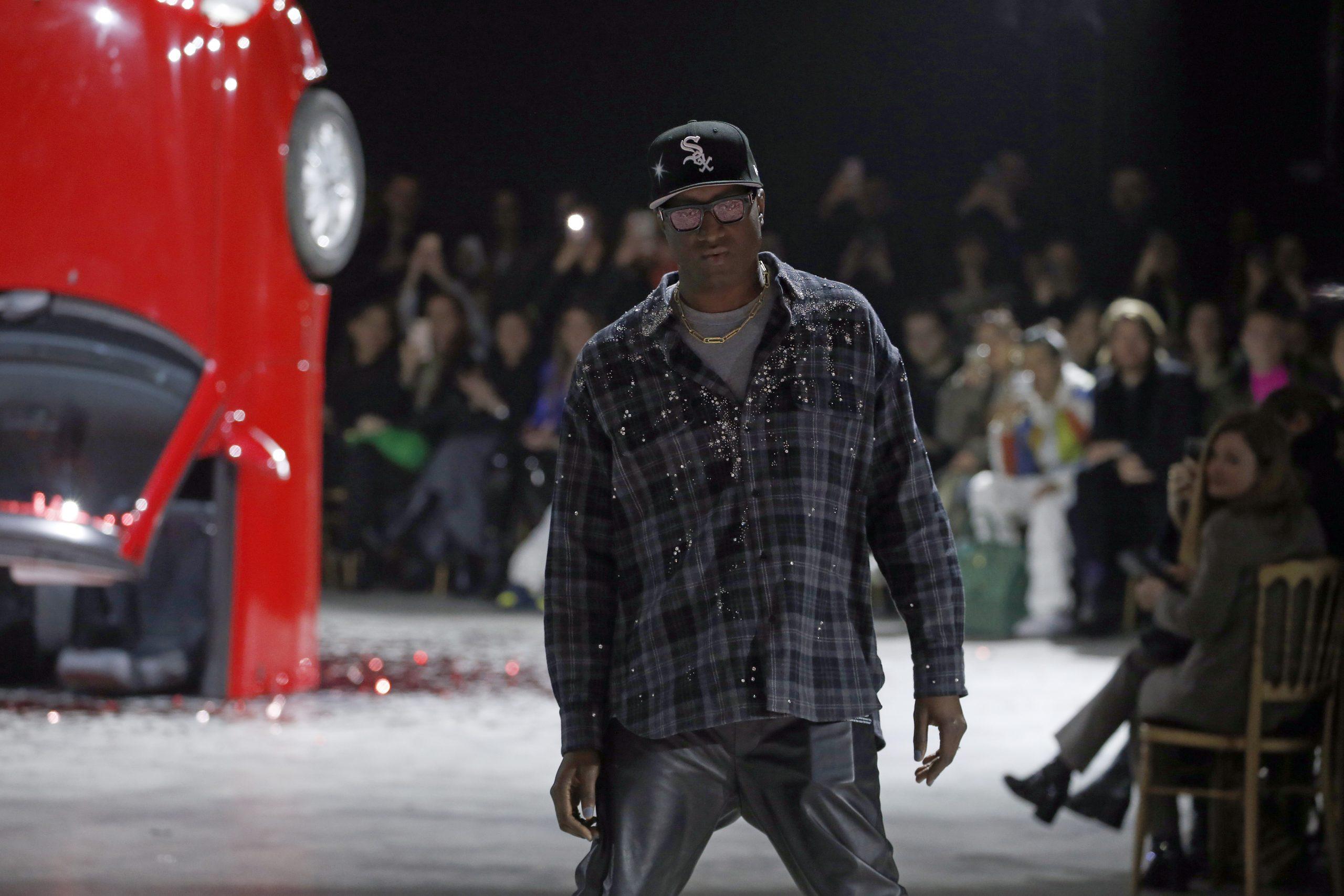 Virgil Abloh en un desfile de Louis Vuitton/Getty Images