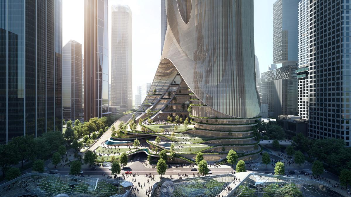 'Tower C' en Hong Kong/ Foto: Zaha Hadid Architects