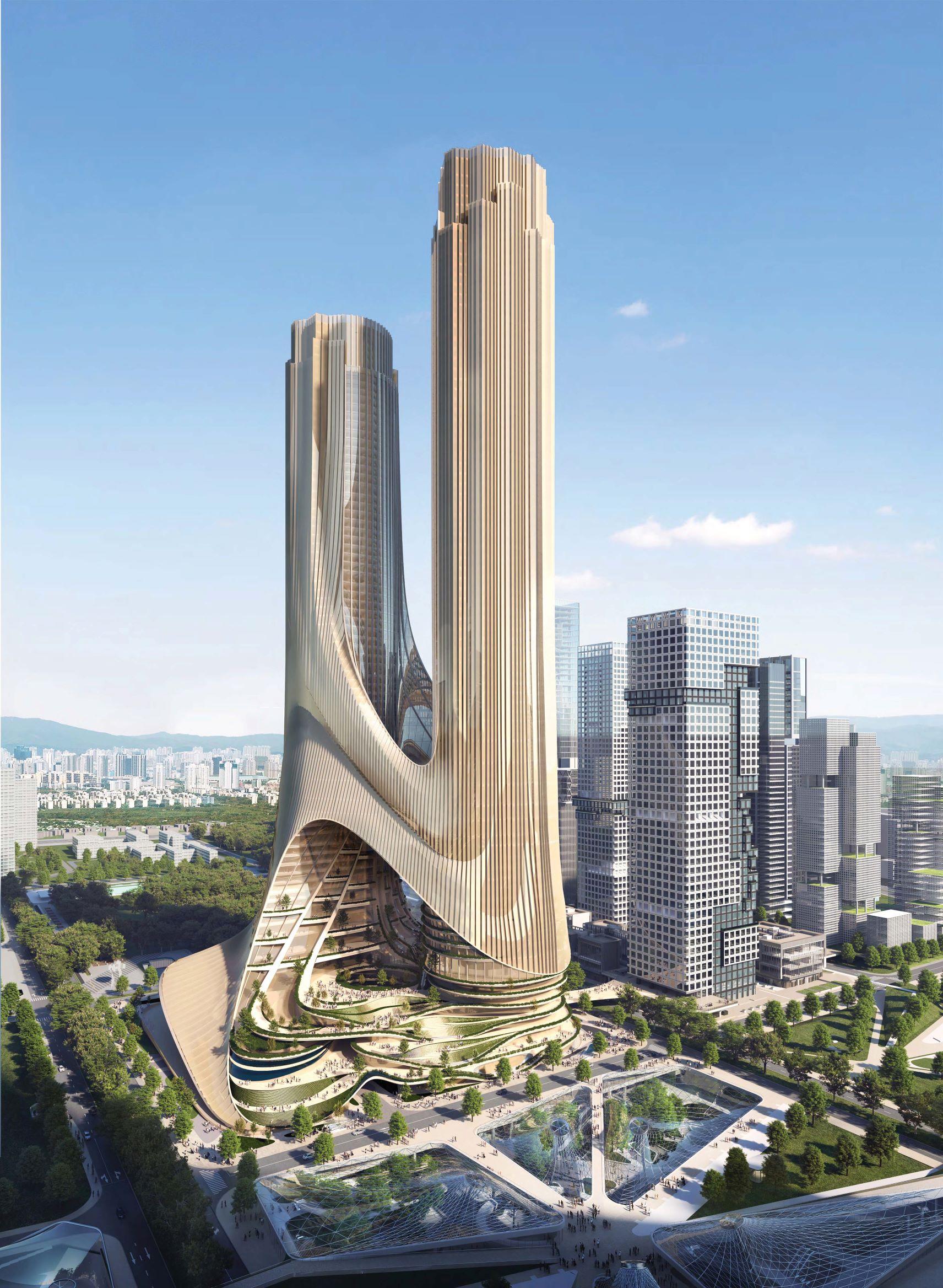 La 'Tower C'/Foto: Zaha Hadid Architects