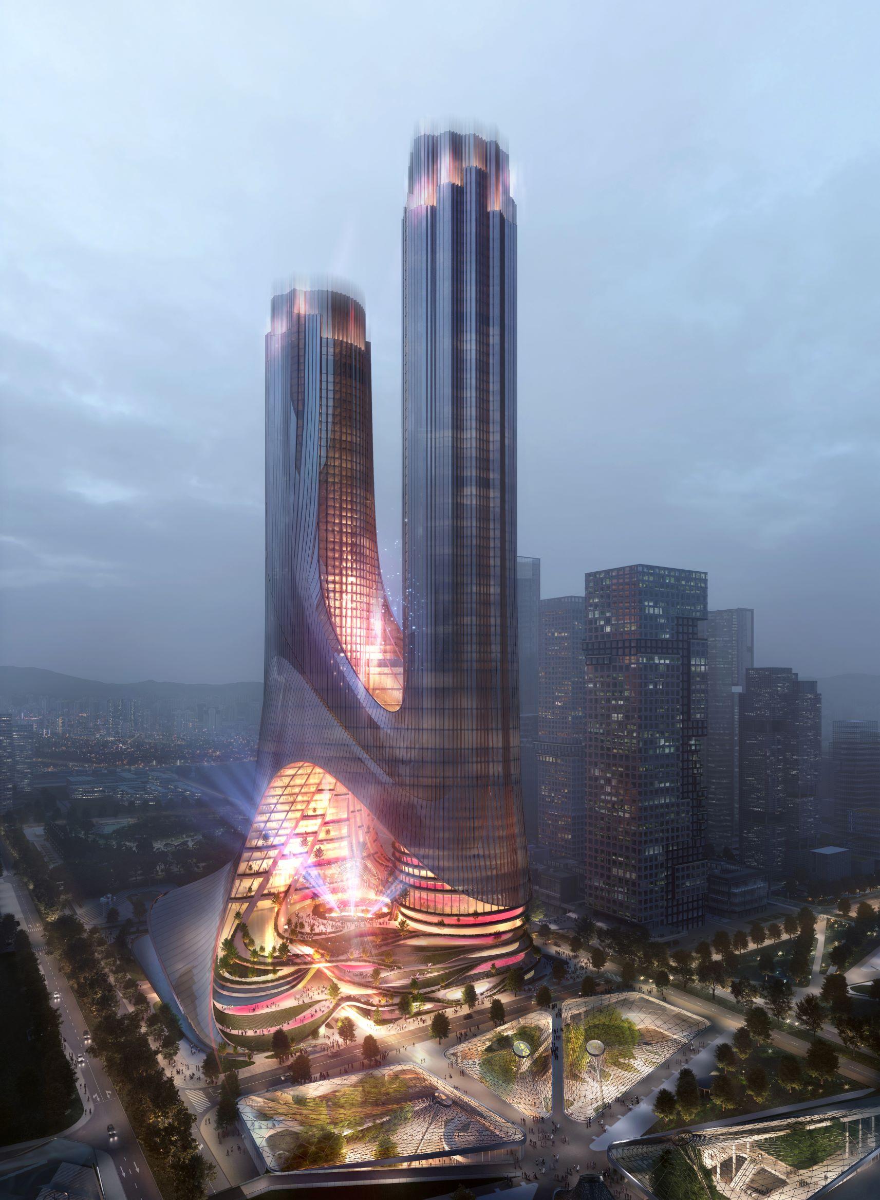 El rascacielos del estudio Zaha Hadid que se construirá en China