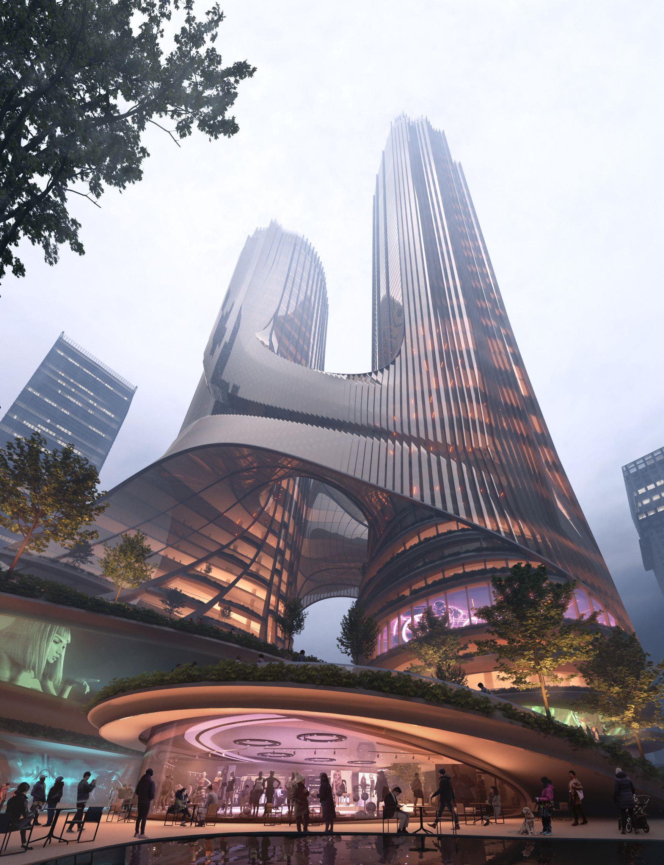 El proyecto 'Tower C' en Shenzhen, China