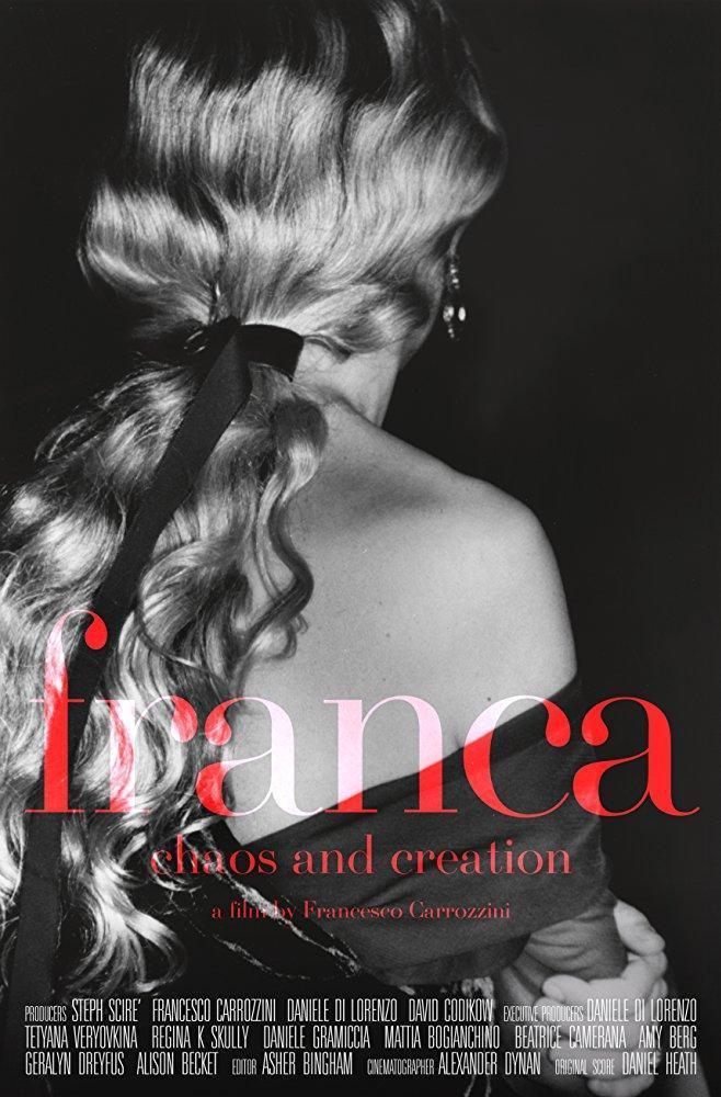 Cartel de 'Franca: Chaos & Creation'