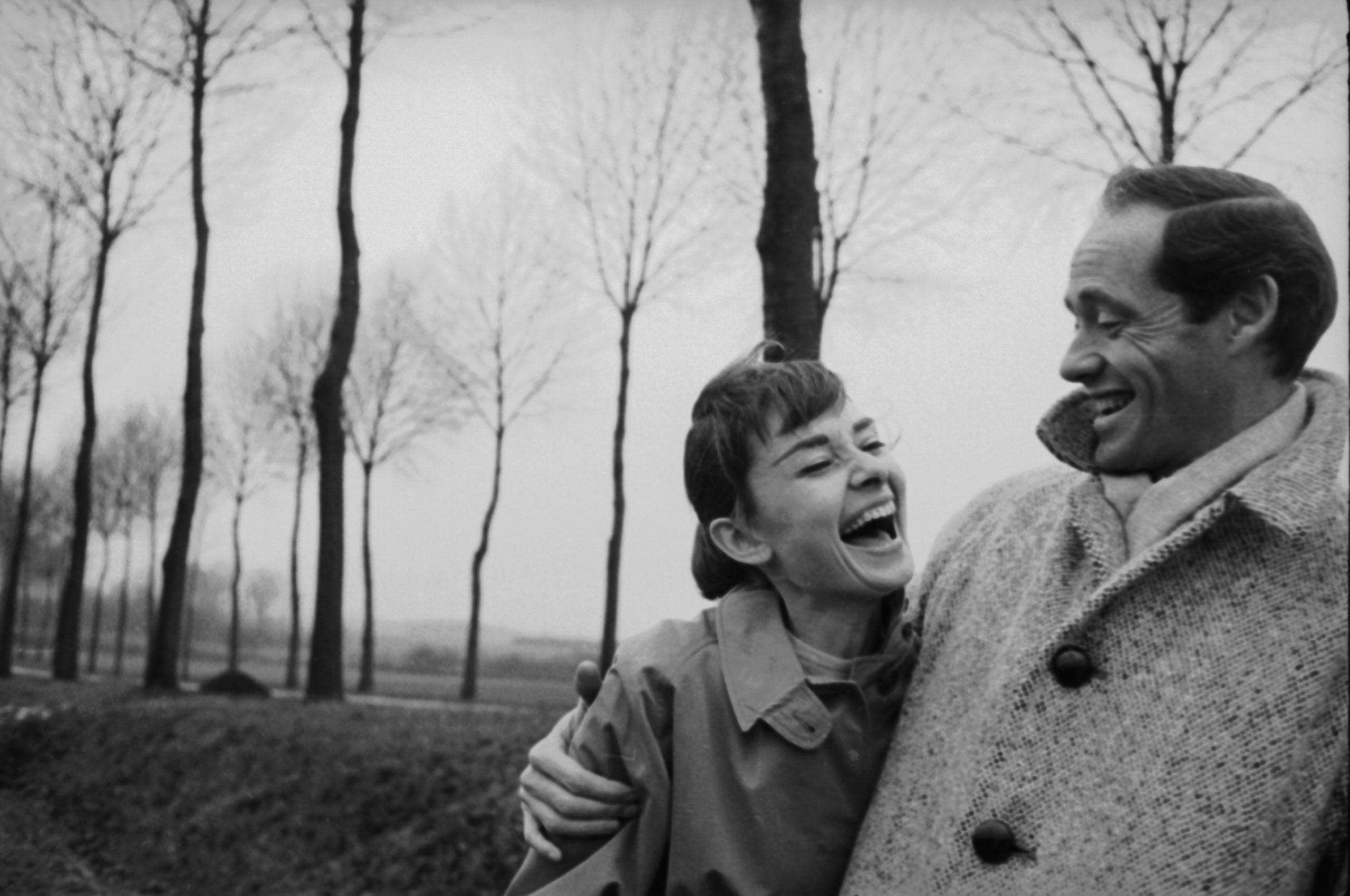 Audrey Hepburn con Mel Ferrer