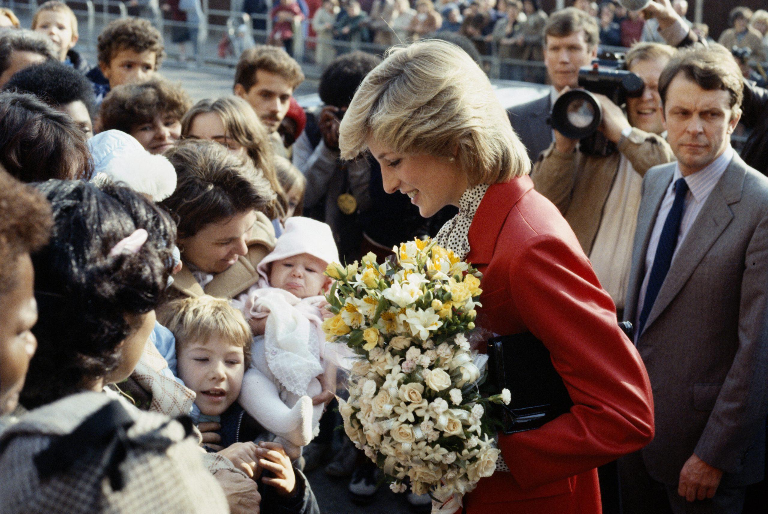 La Princesa Diana en 1983