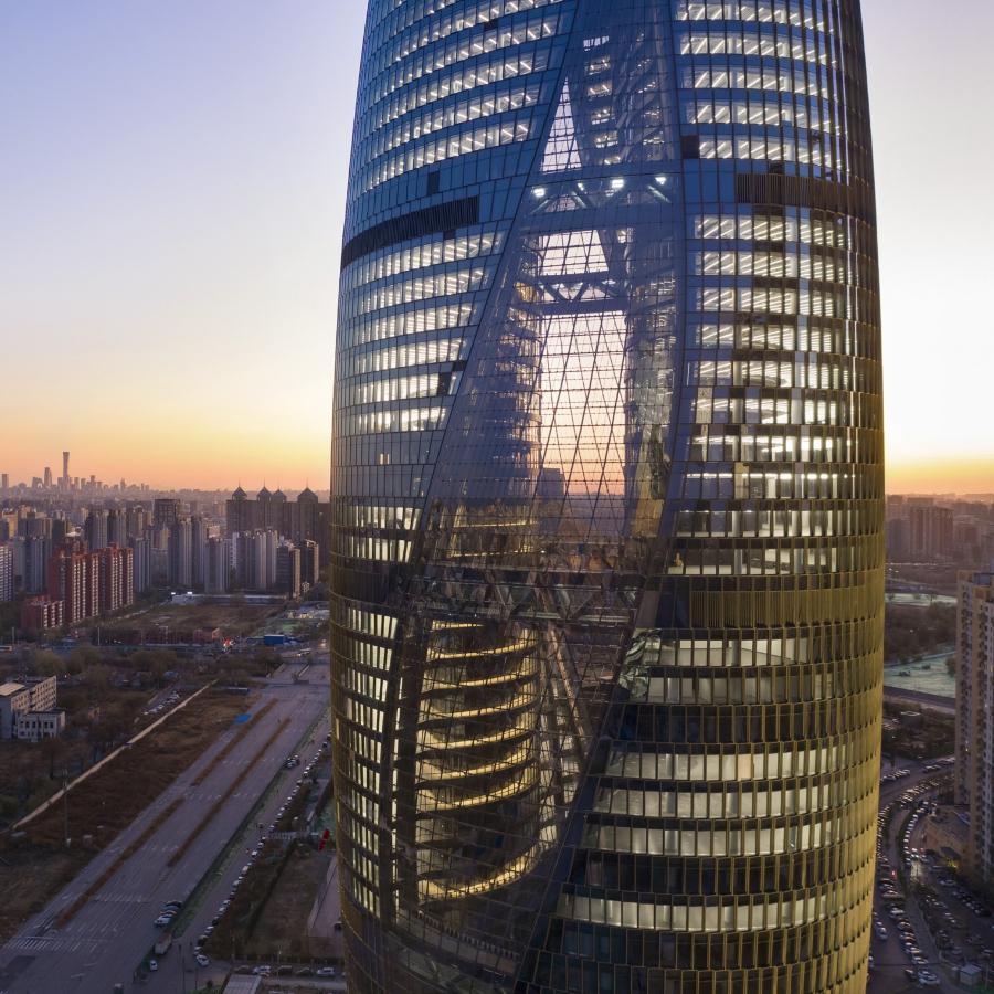 Leeza SOHO de Pekín/Foto: Zaha Hadid Architects