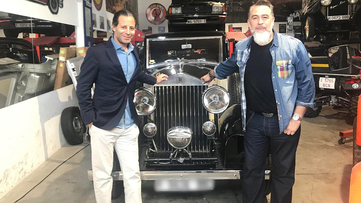 Rafael Chelala y José Vicente Díez