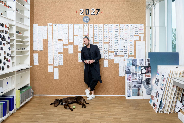 Moritz Krueger en la sede de Mykita