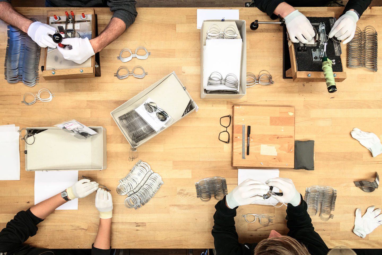 'The Modern Manufactory' de Mykita