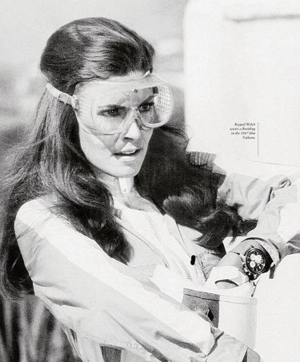 """Raquel Welch en la película """"Fantomas"""""""