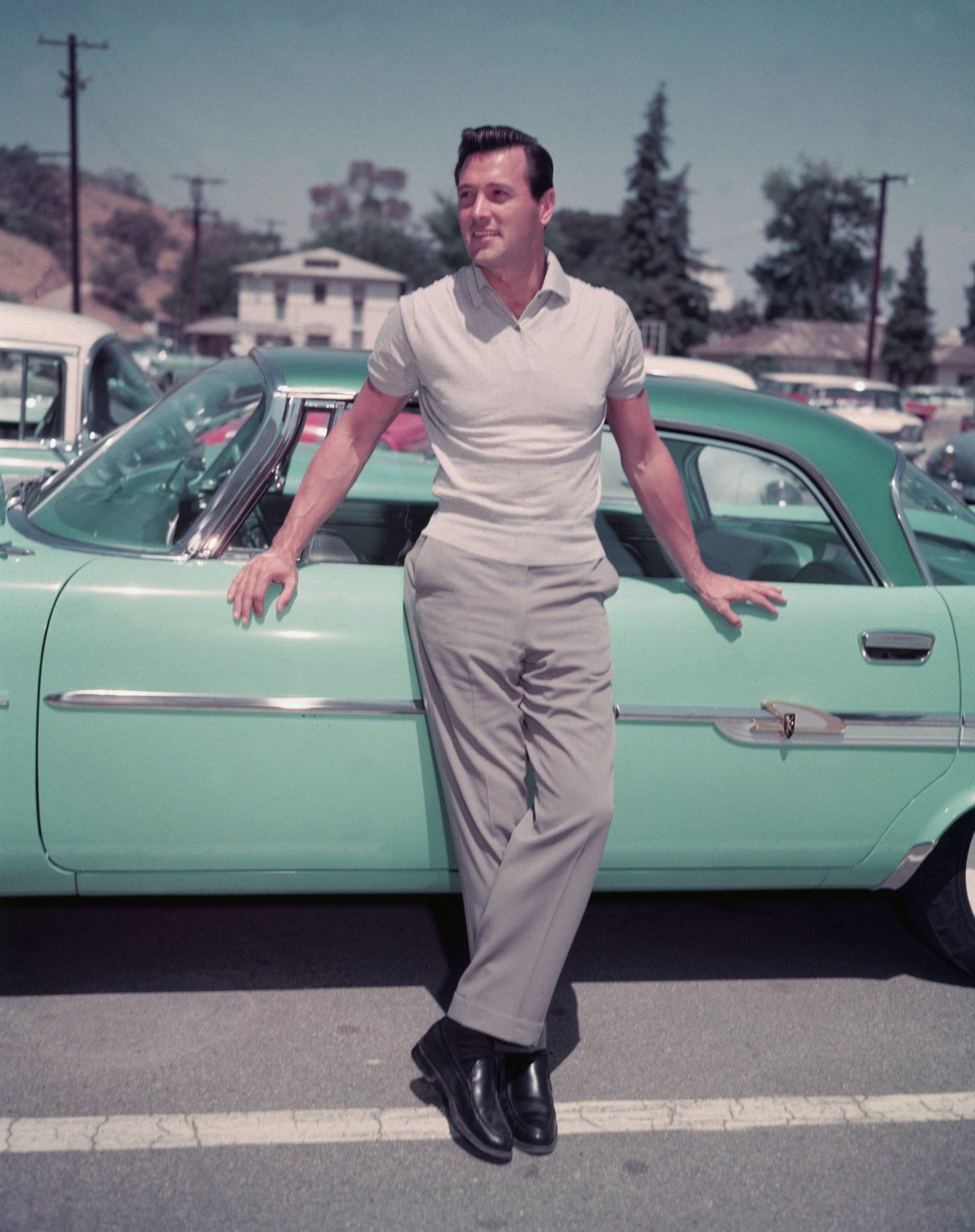 Rock Hudson en los años 50