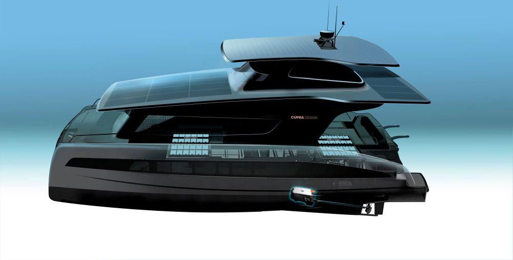 El yate de Volkswagen y Silent-YachtsEl yate de Volkswagen y Silent-Yachts